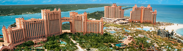Atlantis Resort on Paradise Island in Bahamas