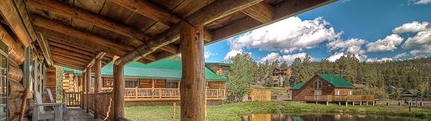 Log Cabin Resort In Arizona Mountains