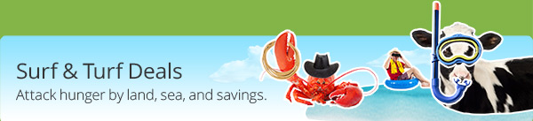 Surf & Turf Deals