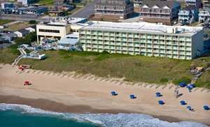 Outer Banks Hotel Overlooking Atlantic Ocean