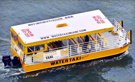 New Proposal for Water Taxi Service from Miami Beach to Downtown Miami
