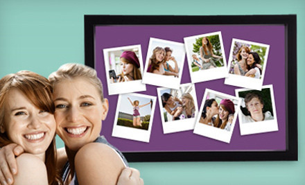 Framed Photo Collage – Online Deal $24 for a Framous Personalized and Framed Facebook Photo Collage