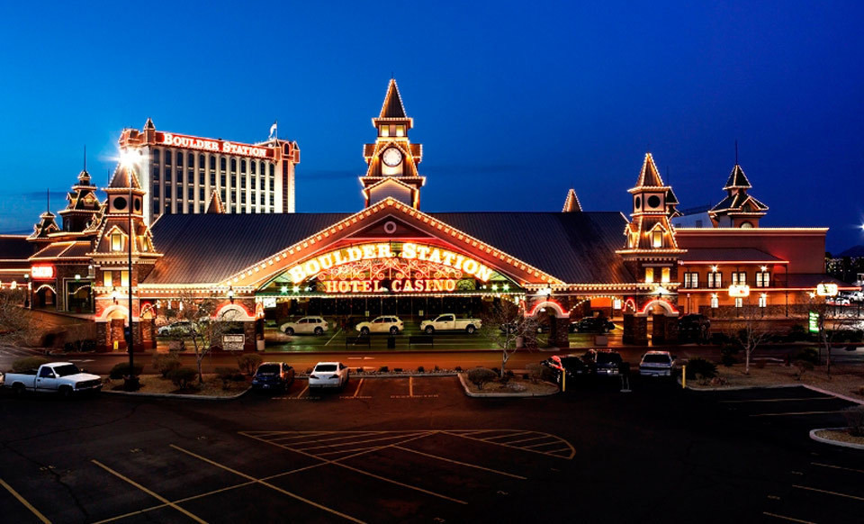 Boulder Station Hotel & Casino – Las Vegas 2-Night Stay for Two in a Deluxe Room or Deluxe Suite with Lunch Buffet and Casino Credit. Combine Up to Six Nights.