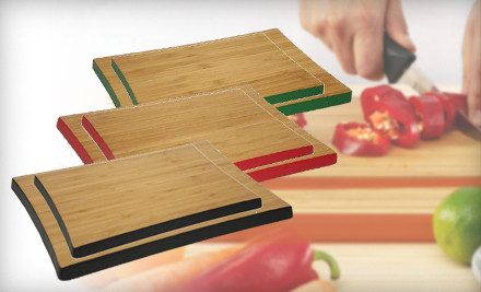2-Pack Bamboo Cutting Boards