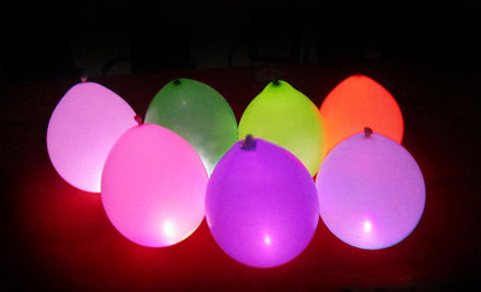 10-Pack LED Balloons