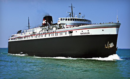 S S Badger Mini Cruise Across Lake Michigan For Six 50