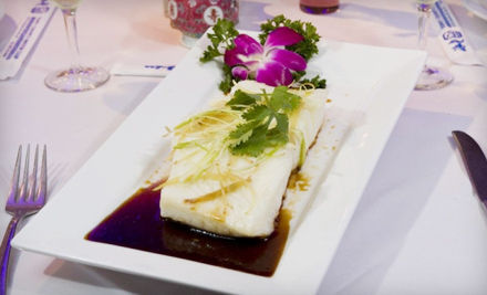 Sushi and Chinese Cuisine for Two or Four at Tony Chan's Water Club (Half Off)