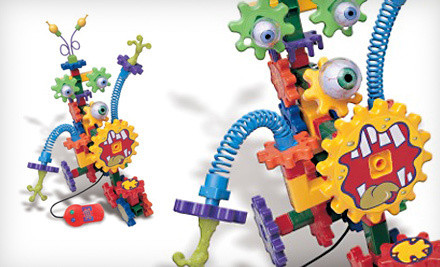 Only $24 for Learning Resources Gears Motorized Crazy Creatures Building Set