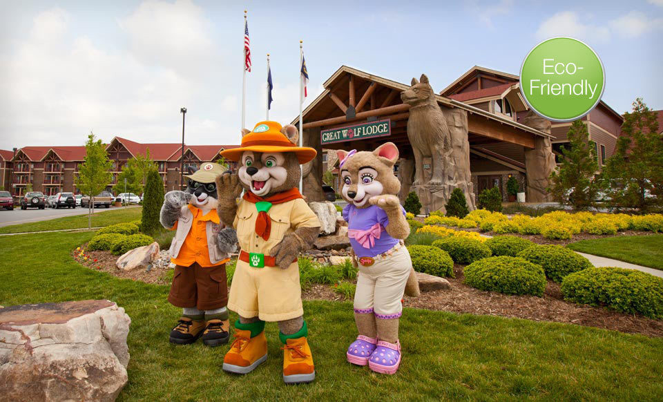 Save over 40% Lodging and Water Park Passes at Great Wolf Lodge