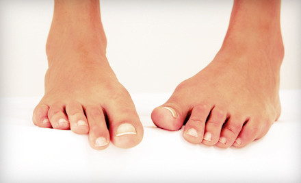 ... -hour treatments target toenail fungus with a painless, FDA-approved