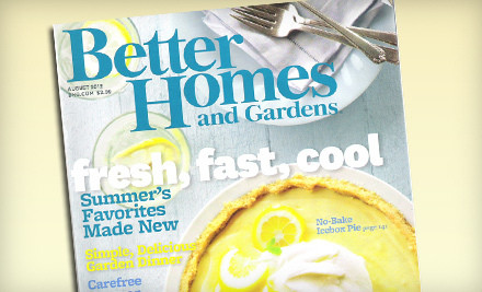 Deal: Up to 77% off Home and Cooking Magazines, including Ladies' Home Journal, Better Homes and Gardens and Cooking with Paula Deen