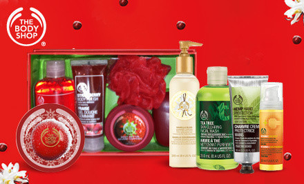 $20 Voucher for The Body Shop (In-store Purchases) $10