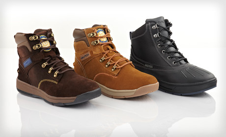 One Pair of Nautica Men's All-Weather Boots . 50 Options Available