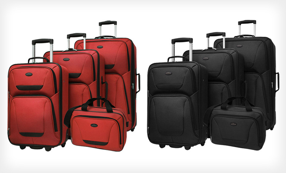 US Traveler St. Michelle Four-Piece Luggage Set