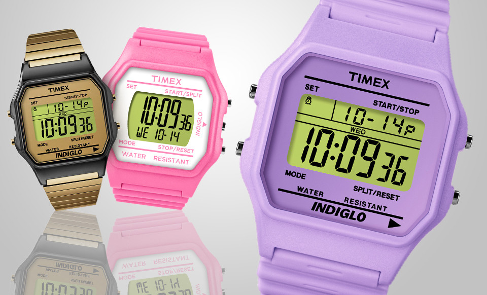 Timex Retro 80 Watches