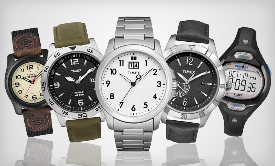 Men's and Women's Timex Watches (Up to 62% Off). 25 Options Available. Free Shipping and Free Returns.