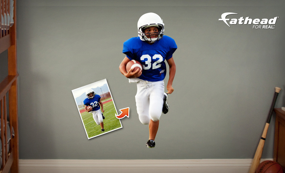 Personalized Fathead wall graphic 50% off