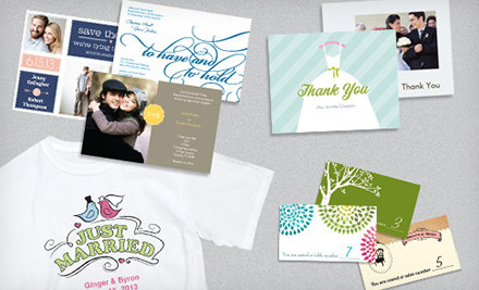 vistaprint wedding