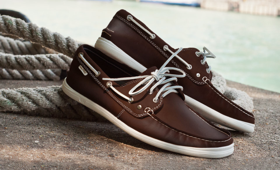 Nautica Hyannis Leather Boat Shoes $35.99 Shipped from Groupon (reg