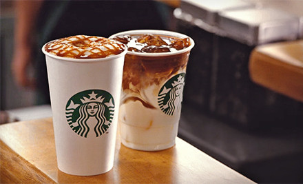 Groupon - $5 for $10 at Starbucks