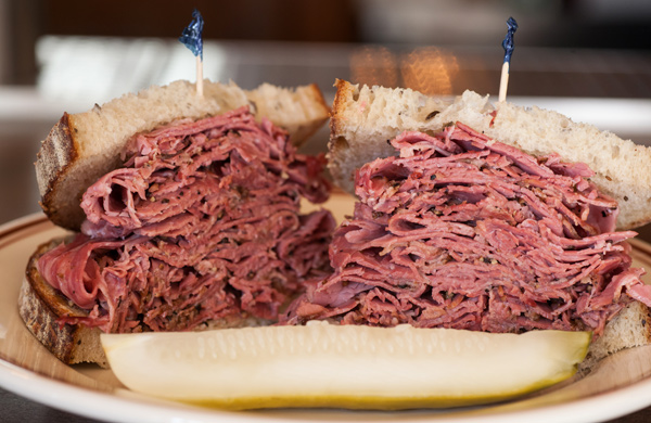 The Pastrami Sandwich at Dillman's in River North | Chicago ...