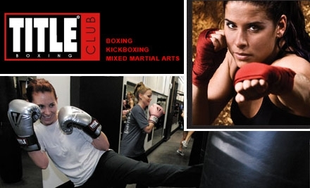 TITLE Boxing Club: 1 Month Membership - TITLE Boxing Club in