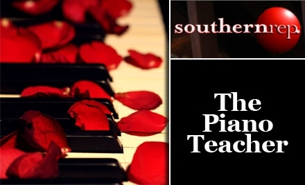 Southern Rep Theatre: The Piano Teacher on 5/20 at 8 PM - Southern Rep Theatre in New Orleans