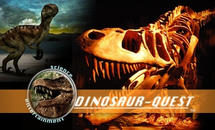 Dinosaur-Quest: Admission for Under 12 Years - Dinosaur-Quest in San Antonio