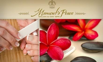 A Moment's Peace: Deluxe Spa Mani-Pedi - A Moment's Peace  in Franklin