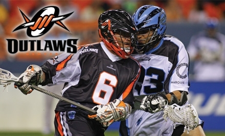 Denver Outlaws vs. Chicago Machine Lacrosse Game on 7/24 at 7 PM - Denver Outlaws Lacrosse in Denver