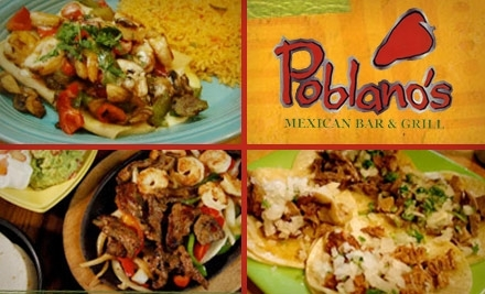 $14 Groupon to Poblano's Mexican Bar & Grill: 5710 High Point Rd. - Poblano's Mexican Bar & Grill in Greensboro