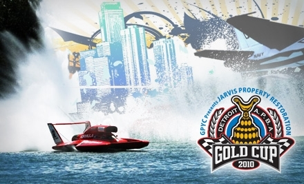 Detroit APBA Gold Cup Race on 7/10 & 7/11:  Waterworks Grandstand Reserved Seats - Detroit APBA Gold Cup in Detroit