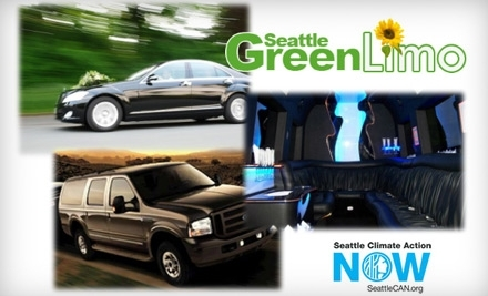 Seattle Green Limo: $70 Toward One-Way Airport Transportation - Seattle Green Limo in