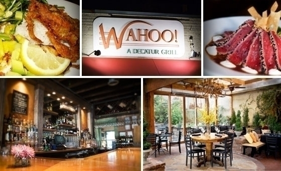 Wahoo grill decatur ga groupon for Marietta square tattoo