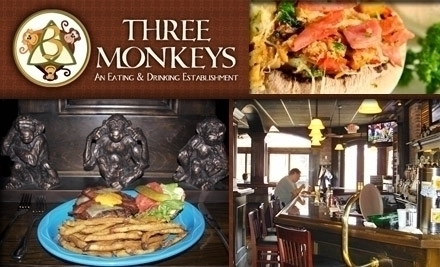 3 monkeys bar saint louis