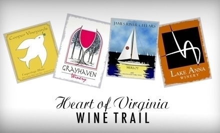 Wineries of the Heart of Virginia Wine Trail
