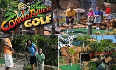 Congo River Adventure Golf: 6312 International Dr. Orlando, Florida 32819 - Congo River Adventure Golf in
