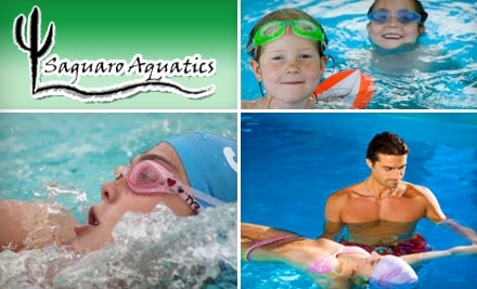 Saguaro Aquatics: 9 Kids' Aquatic Boot-Camp Classes - 2045 W Omar Dr. in Saguaro Heights - Saguaro Aquatics in Tucson