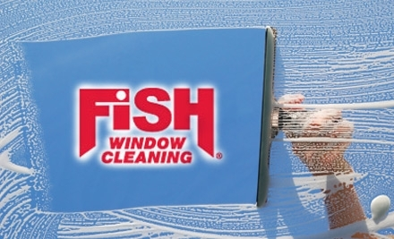 $80 Groupon to Fish Window Cleaning: Broomsfield/Boulder - Fish Window Cleaning in