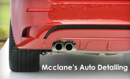 McClane's Auto Detailing - Wash & Wax ($65 Value) - McClane's Auto Detailing in Everett