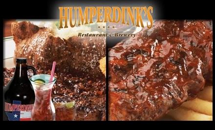 Humperdink's: 1601 N Central Expy. in Richardson - Humperdink's in Addison
