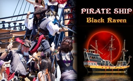 The Black Raven Pirate Ship: Club 21+ Cruise for 1 Adult - The Black Raven Pirate Ship in St. Augustine
