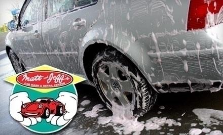 Matt Jeff S Hand Car Wash Novato Ca