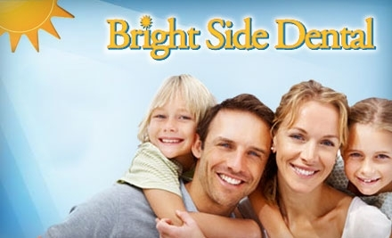 Bright Side Dental at 36400 5 Mile Rd. in Livonia: 1 Adult Teeth Cleaning, X-Ray and Exam - Bright Side Dental in Canton