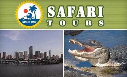 Safari Tours Miami: Miami City Tour and Biscayne Bay Boat Tour - Safari Tours Miami in Miami