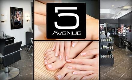 Fifth Avenue Salon: 1 French Mani-Pedi - Fifth Avenue in Louisville