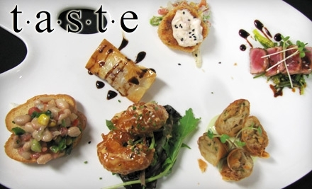 $20 Groupon to Taste Restaurant: Lunch - Taste Restaurant in Overland Park