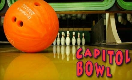 Capitol Bowl: Good for 1-Hour of Bowling and Shoes for 2 - Capitol Bowl in West Sacramento