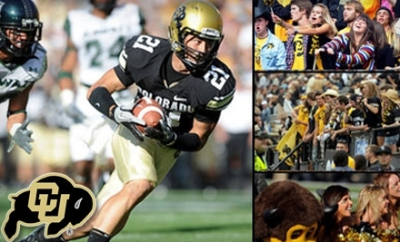 Colorado Buffaloes vs. Iowa State Cyclones on Nov. 13th, 11:30 a.m. - University of Colorado Football in Boulder