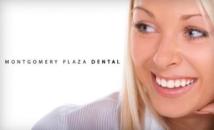 Montgomery Plaza Dental: Customized Bleaching Trays & 4 Syringes of Whitening Gel - Montgomery Plaza Dental in Fort Worth